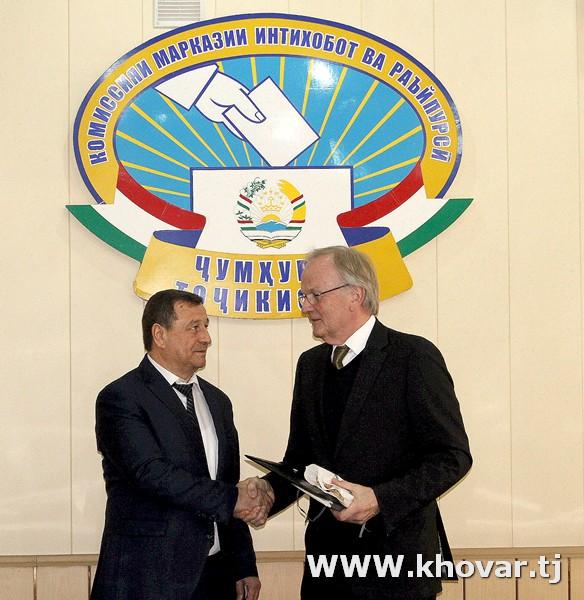Пресс-релиз – Встреча Председателя ЦКВР РТ с международными наблюдателями от БДИПЧ/ОБСЕ